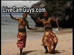 Sexy Interracial Threesome