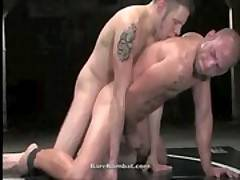 Naked Gay Combat - Hot Hunks Wrestle, Fuck and Suck!