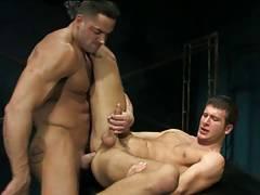 Erik Rhodes and Spencer Fox