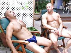 Patrick Ives and Mike Radcliffe (Chris Banks, voyeur)