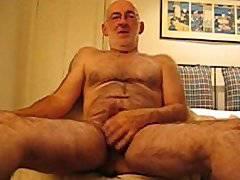 Richard the Wanker fun with a dildo