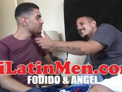 Tatted Latino fucking hot bottom