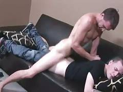 Blond lad gets fucked by stud