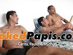 Latino 3 way BAREBACK