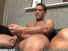 CODY CUMMINGS GETS A BLOWJOB FROM a HUNK