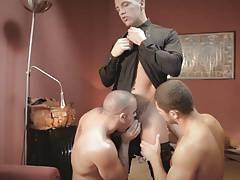 Hot threesome - Hotel X