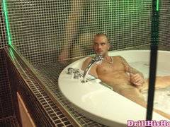Damien Crosse and Mike Colucci bathing