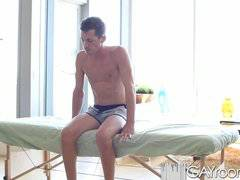 GayRoom Sensual massage turns into hot sex