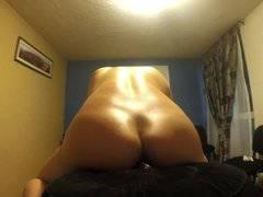 Hot Ass Enjoying Big Dildo XXX