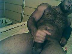 buff black &super hairy jacks his meat