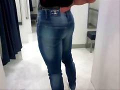 Adonis in Jeans... Dressing Room
