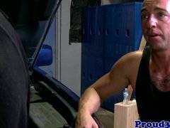 Mature muscular roughsex for pocket bear