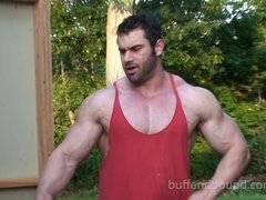 Buff guys Bondage clips