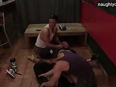 Brutal cub first anal sex