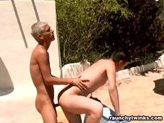 Falk And Dawyd Outdoor Anal Sex
