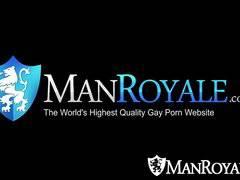 HD ManRoyale - Dick massage and loads of cum