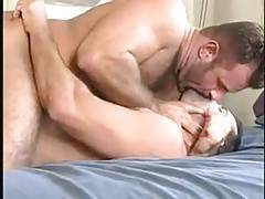 Hairy Hard Bears Kissing