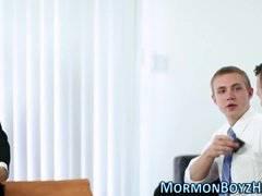 Mormon sucked and fucked