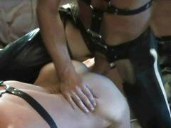 He loves bareback and leather