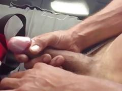 Str8 men shows his dick in front of his friend