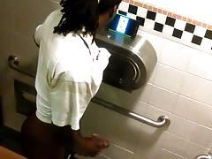 Str8 spy in public toilet