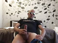 Str8 daddy play in the bedroom