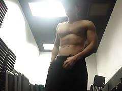 Hot young gym fun