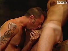 Gay Gangbang With Five Hung Jocks