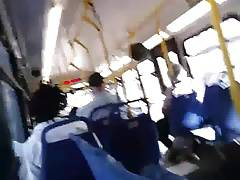 Str8 pulling out on bus
