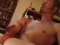 Str8 guy cum hard & fast