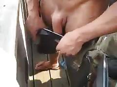 Str8 fun play - whipping out his dick at party