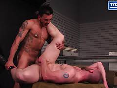 Adam Hearst Gets Pounded By Tattooed Latin Handyman