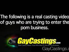 GayCastings - Ass eater Kyle Kash does porn