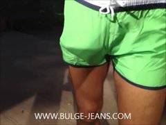Showing Bulge And Jerk