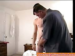 Gay dilf facialized by straightbait hunk