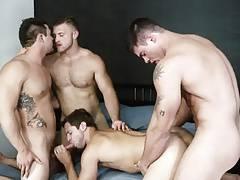An undead orgy