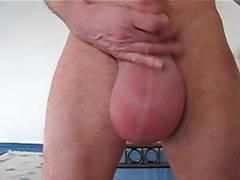 swinging ballsac,