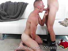 GayCastings - Scott Riley Tries Out For Porn - Gets Fucked