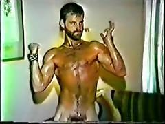 bearded Keiths sweaty workout (vintage solo)