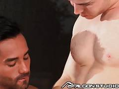 FalconStudios Big Cock Cross Pounds The Gorgeous Latino