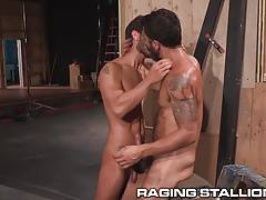 RagingStallion Riding That Hot Cock