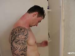NextDoorRaw Taking My New not brother Raw In The Bathroom