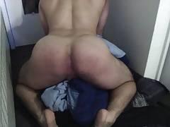 Twerking naked