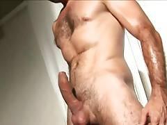 sexy hairy wanker 6