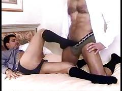 Hot Bedroom Play in Black OTC Socks