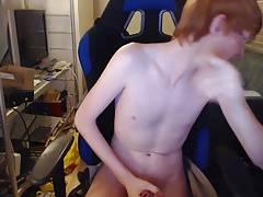 Danish Redhead+Viking Bi Boy - Camshow In US = Gudheadt 4
