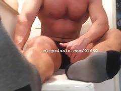 Foot Fetish - Aiden Feet Video 1