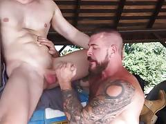 FUCK WITH UNCLE - HE GOT A BIG COCK