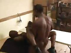 Black Couple Fucking Hard