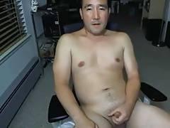 Hot asian stroking